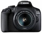 Camera foto canon eos-2000d kit obiectiv ef-s 18-55mm f/3.5-5.6 is