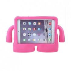 Husa protectie tableta IPAD AIR pentru copii, roz, BBL228