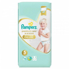 Scutece Pampers Premium Care Pants 5 Mega Box, 52 buc/pachet