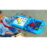 Set premium Atelier de construit modele Bormasina Magica