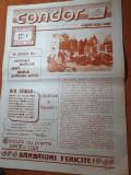 Ziarul condor anul 1,nr.1 din  aprilie 1990-prima aparitie