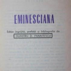 EMINESCIANA - PERPESSICIUS