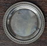 (B4) FARFURIOARA DIN ARGINT - MARCAJ 800, DIAMETRU 81.5 MM, 19 GRAME, Farfurii