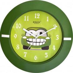 Ceas de Perete Verde Pentru Copii Rikon 2751