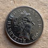 x164 Marea Britanie 10 pence 2013
