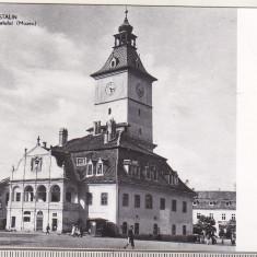 bnk cp Orasul Stalin - Vechea casa a Sfatului ( Muzeu )  - necirculata