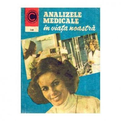 Analizele medicale in viata noastra foto
