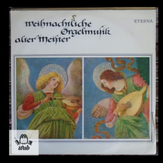 Muzica religioasa cantata la orga - disc vinil Germania