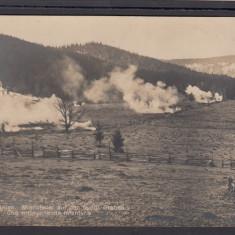 Carte Postala Romania WW1 - Foc asupra inamicului si avansarea infanteriei