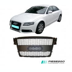 Grila radiator RS Look Audi A4 B8 2007|2008|2009|2010|2011|2012