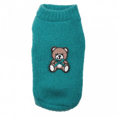 Pulover Teddy Bear - 3060 - XS (Culoare: Verde)