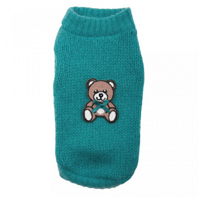 Pulover Teddy Bear - 3060 - XS (Culoare: Albastru inchis) foto