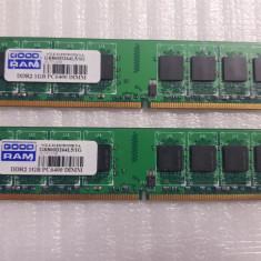 Memorie RAM GoodRam DDR2, 1 GB, 800MHz, CL5 - poze reale