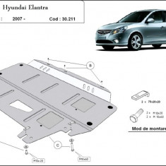 Scut motor metalic Hyundai Elantra 2007-2011