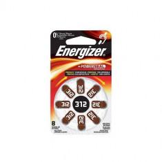 Baterii pentru proteze auditive Energizer 312 Zinc-Aer 8 Baterii /set