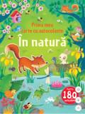În natură. Prima mea carte cu autocolante