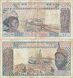 1979, 5.000 francs (P-708 Kb) - Senegal!