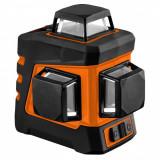 Cumpara ieftin Nivela laser, verde, 360° 3D, cu carcasa si suport magnetic, K, 20 m, NEO