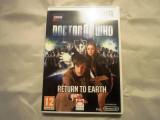 Joc Doctor Who Return to earth, wii, original, alte sute de titluri