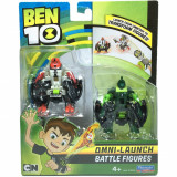 Set figurine Ben 10 Four Arms si Wildvine