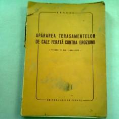 APARAREA TERASAMENTELOR DE CALE FERATA CONTRA EROZIUNII - B.V. PASCENCO