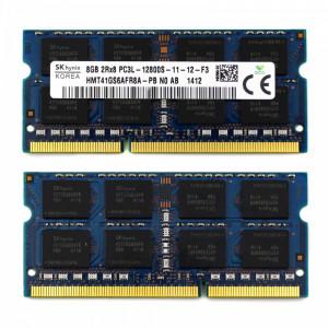 Memorie Ram Hynix DDR3L 8GB PC3L 12800S 1600 Mhz HMT41GS6AFR8A-PB