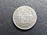 Cumpara ieftin SPANIA - 50 Centimos 1894 - Alfonso XIII (Argint ) (27)