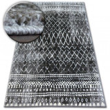 Covor Shadow 9890 vizon si negru, 180x270 cm, Polipropilena