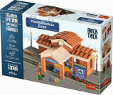 Brick Trick - Gara, 160 caramidute ceramice, Trefl
