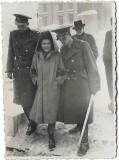 D595 Fotografie ofiter roman cu sabie 1940 Bucuresti