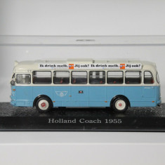 Macheta autobuz Holland Coach - 1955  - Atlas scara 1:72