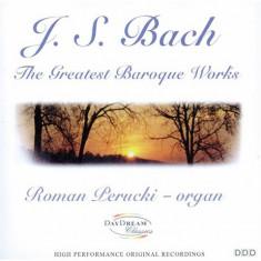 CD Original Bach / Perucki Orga- The Greatest Baroque Works