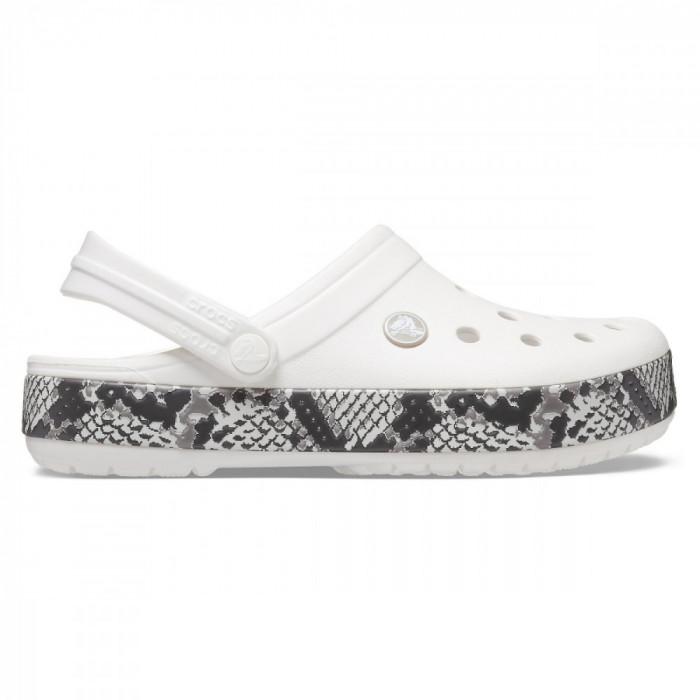 Saboți Femei casual Crocs Crocband Snake Print Clog