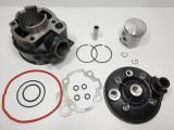 Kit Cilindru - Set Motor + Chiuloasa Scuter Yamaha DT R 80cc - 47mm - 2 Segmenti