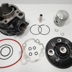 Kit Cilindru - Set Motor + Chiuloasa Scuter Rieju RS1 80cc - 47mm - 2 Segmenti