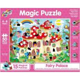 Cumpara ieftin Magic Puzzle, Palatul zanelor, 50 piese, Galt