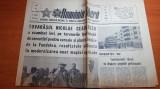 romania libera 20 mai 1982-vizita lui ceausescu la fundulea,cenaclul flacara