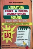 Literatura romana pentru elevii de liceu Mariana Badea