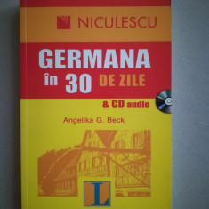 Germana in 30 de zile + CD