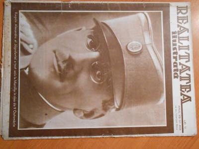 Revista Realitatea Ilustrata, 14 oct. 1934, regele Alexandru ucis la Marsilia foto