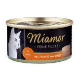 Conservă Miamor File pui și ouă de prepeliță 100 g