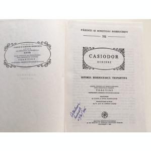 CASIODOR- SCRIERI. ISTORIA BISERICEASCA TRIPARTITA, PSB 75