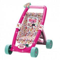 Carucior de jucarie pentru papusi, model Minnie, multicolor
