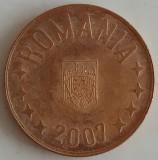 Romania - 5 Bani 2007 - An rar