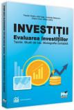 Cumpara ieftin Investiții. Evaluarea investițiilor