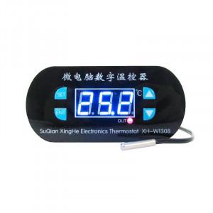 Modul Controller de Temperatură W1308 cu Afișaj Roșu (Termostat), Alimentare la 220 V