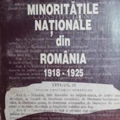 MINORITATILE NATIONALE DIN ROMANIA 1918 - 1925 - ADRIAN ADAMACHE , DANIELA BLEOANCA