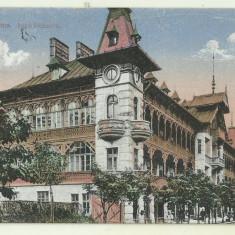 cp Govora : Hotel Stefanescu - circulata anii 1910, timbre