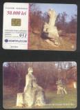 Romania 2001 Telephone card Magura Creation Camp Rom 119 CT.090
