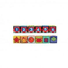 Cuburi moi Puzzle 6 piese, K's Kids